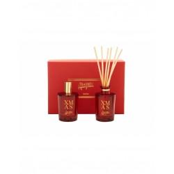 Teatro Fragranze Uniche, XMAS (Luxury collection), Mini Gift Box - (Spray 100ml & Diffuser 100ml)