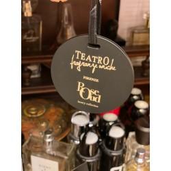 Teatro Fragranze Uniche, ROSE OUD, Black Rubben Scented, Disc with logo TFU boxed