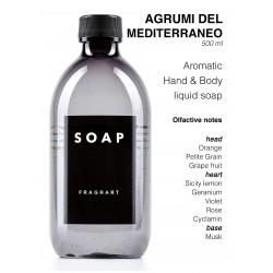FRAGRART , Soap - AGRUMI DEL MEDITERRANEO 500ML
