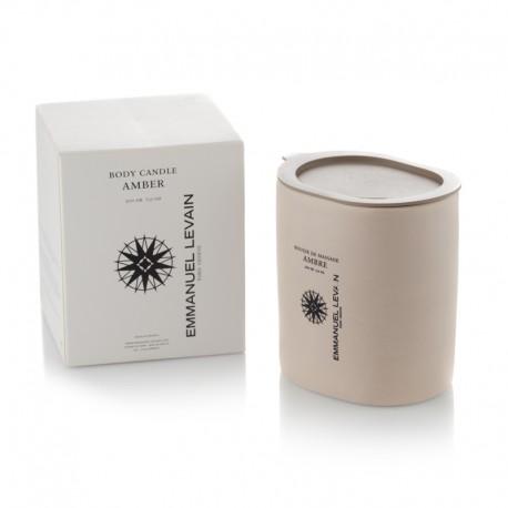 Emmanuel Levain body candle Amber 200 gr